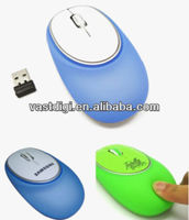 Optical Wireless Silicon Usb Mouse/Mini Computer Mouse