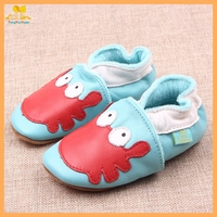 Cute animal genuine leather baby prewalker shoes