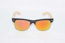 2015 Bamboo frame, bamboo acetate eyeglasses,aviator bamboo sunglass Z008