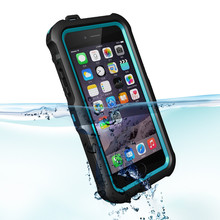 mix color mobile Phone full body Case with Dirt Shockproof Waterproof Cover Case for iPhone 6 4.7