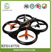Universal remote control,shatterproof 6-axis 2.4G rc mid size foam quadcopter ufo with camera,rc helicopter craft model