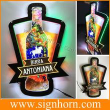 New design advertising acrylic led crystal light frame