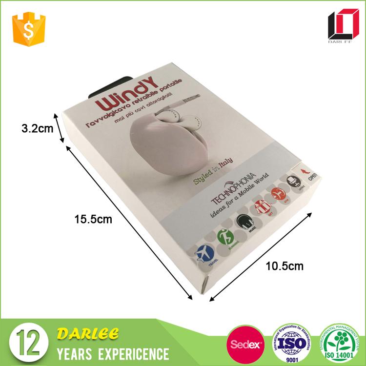 phone accessories paper card box