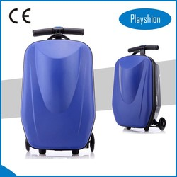 Girls travel luggage, 2 in1 scooter luggage for sale