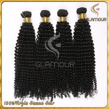 No shedding no tangle grade 7a kinky curly hair extension best selling raw cambodian hair