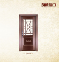 classic copper door single copper door hot sale new design room entrance glass interior