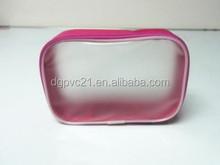 Cosmetic Makeup Travel Folding Clear Plastic Makeup Brush Bag