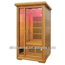 Modelo quente 1 pessoa atraente infrared sauna casas