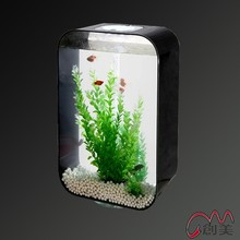 Coral reef organic glass fish tank ornaments for home