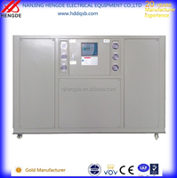 Industrial water cooled cooling chiller price from leader suppiler for polywood industry