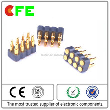 Horizontal SMT Spring Pin connector,male female pogo pin connector
