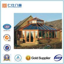 Renshi popular style energy saving aluminum sunroom