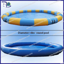 outdoor rubber swimming pool