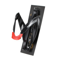 черный и красный Велоспорт велосипед велосипедов супер свет стекло бутылку воды волокна держатель клетки рейки