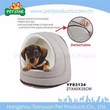 Cheap wholesale comfortable soft faux fur pet bed