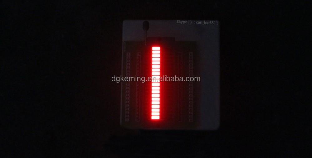 20 segments 3 colors led bargraph array displays