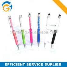 Promotion Syring Stylus Color Plastic Ball Pen