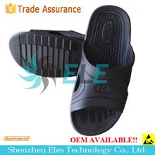 new Antistatic ESD conductive clean room PU PVC SPU EVA foam slipper