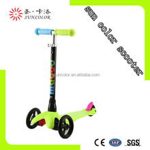 Hot maxi 3 in 1 o-bar mini kick scooter with seat with front two wheels for sale