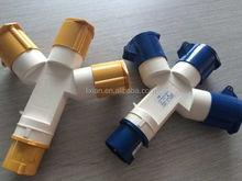 ( múltiples receptáculo ) LX-1013-4 sockets múltiples salida Multiple 16A 2 P + E industrial plug Socket IP44 de múltiples