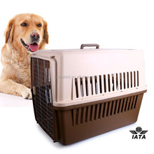 air flight with wheels large plastic cat pet carrier