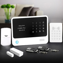 Top selling and reliable wireless WIFI alarm system with RFID and CID for central monitoring home/business security