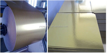 Paperline 350gsm Gold paper for packing boxes