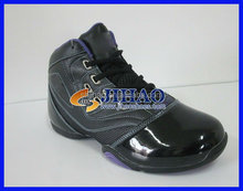 2012 most Fashion basketball shoes black lace-up breathable durable MVP boots