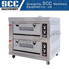 Scc precio directo de fábrica del diseño profesional industrial cubierta horno de gas para pan
