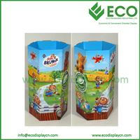 cardboard dump bins for retail, biscuit cardboard dump bins , dump bins