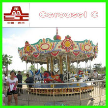 HOT !!!l merry go round toy carousel horse amusement equipment for sale
