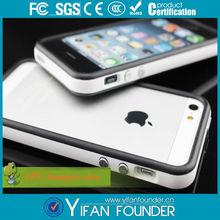 for iphone 5' bumper case, dual color TPU bumper case for iphone 5