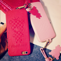 New Phone Case Fashion Neck Strap Case for iPhone 6