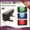 Outdoor Wireless DMX 12*Tri-3W RGB 42W Battery Operated LED Light