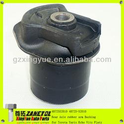 4872552010 48725-52010 Rear Axle rubber arm Bushing for Toyota Yaris Echo Vitz Platz