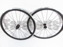 DT 240s hub + Sapim cx ray Aluminum brake surface 700c 38mm carbon clincher alloy wheels (FSC38-CA)