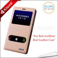Universal Flip Mobile Phone Cover Case For Xiaomi Redmi Note Double Window Folio