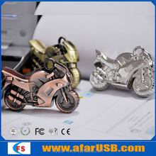 Hotselling New Products Metal Motorcycle usb flash memory,custom usb of motorcycle usb memory stick 2.0