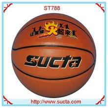 Promotional PU leather basketball ball ST788