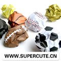 Office suministros escolares Playmore Bola papel madera portátil classmate