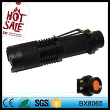 Trade assurance Tactical flashlight torch Military aluminum led flashlight rechargeable flashlight