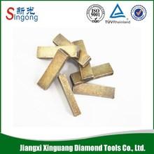 No-Layer Wet Diamond Segment For Marble Cutting Metal Bond Granite Marble Stone Cutting Segment