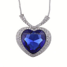 In Stock MOQ 120 pcs Accept Paypal Hot selling lovers necklace pendant