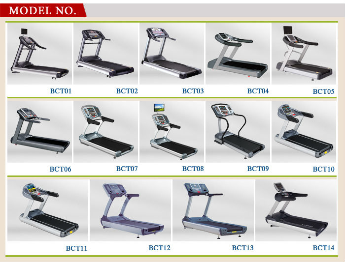 BCT 01 Luxurious Commercial Treadmill jogging machine treadmill