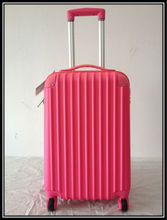 ABS luggage trolley wheeled suitcase