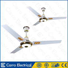 AC/DC double duty 12v 48inch metal blades dc decorative cheap ceiling fan prices