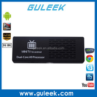 Rk3066 RAM DDR3 1GB ROM NAND Flash 8G android 4.2 dual core smart tv box xbmc