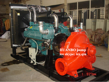HBW80 belt driven centrifugal water pump