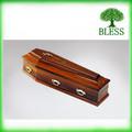 europea ataúd de madera con alta calidad