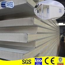 Polyeurethane foam insulation pu panel sandwich wall board